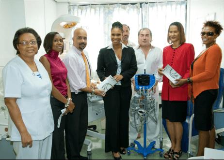 The Queen Elizabeth Hospital Paediatrics Department
